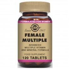 Female Múltiple  | Solgar | 120 Comps de 1363 mgr. | Fertilidad - Cansancio