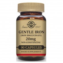Hierro Gentle | Solgar | 90 Cáps  | Sistema inmunitario – Cansancio – Fatiga