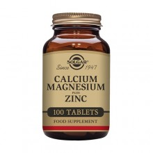 Calcio con Magnesio Plus Zinc  | Solgar | 100 Comps. De 471 mgr. | Huesos - Articulaciones