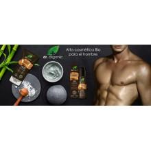 Gel de Ducha y Cabello | dr. Organic  | 250 ml  | Con Ginseng Orgánico - 100% Bio | Cuidado del Hombre