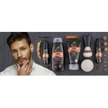 Aceite de Afeitar y Barba | dr. Organic  | 50 ml  | Con Ginseng Orgánico - 100% Bio | Cuidado del Hombre