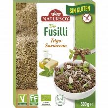 Natursoy - Fusilli Trigo Sarraceno sin Gluten | Nutrition & Santé | 500g | Harina de Trigo Sarraceno | Pastas