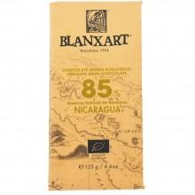 Blanxart - Chocolate Negro Nicaragua 85%   Nutrition & Santé   125g   Azúcar, manteca de cacao, Cacao   Chocolates