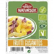 Natursoy - Frutti Gusanitos   Nutrition & Santé   100g   Siropes y Frutas Varias   Dulces