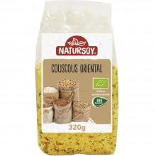 Natursoy - Couscous Oriental | Nutrition & Santé | 320g | Couscous Blanco, Aceite de Oliva, y Verduras | Cereales