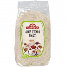 Natursoy - Arroz Redondo Blanco | Nutrition & Santé | 1000g | Arroz Redondo Blanco | Arroces