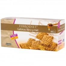 Dietisa - Galletas de Fibra y Miel | Nutrition & Santé | 200g |  Salvado y harina integral de Trigo, Huevo y Miel | Repostería