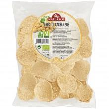 Natursoy - Chips de Garbanzos | Nutrition & Santé | 70g | Harina de Garbanzo, patata y aceite de Girasol | Snacks