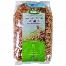 Bio Idea - Espiral Integral | Nutrition & Santé | 500g | Sémola de Trigo Duro Integral | Pasta