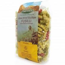 Bio Idea - Espiral Tricolor | Nutrition & Santé | 500g | Sémola de Trigo Duro, Tomate y Espinacas | Pasta