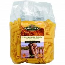 Bio Idea - Rigatoni con Quinoa | Nutrition & Santé | 500g | Sémola de Trigo Duro y Harina de Quinoa | Pasta
