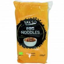 Yakso - Fideos de Huevo | Nutrition & Santé | 250g | Harina de Trigo, sal, Huevos | Pasta