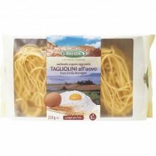 Bio Idea - Tagliolini al Huevo   Nutrition & Santé   250g   Sémola de Trigo y Huevos   Pasta