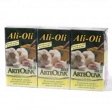 ArteOliva - Ali Oli | Nutrition & Santé | 3x125ml| Aceite de girasol, Huevo, Ajo | Salsas