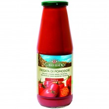 Bio Idea - Salsa de tomate Rústica   Nutrition & Santé   700ml  Tomates Triturados y Sal Marina   Salsas