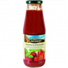 Bio Idea - Tomate Triturado con Albahaca   Nutrition & Santé   680ml  Tomates y Albahaca   Salsas