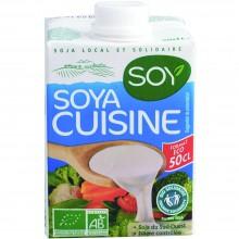 Bio Soy - Crema de Soja | Nutrition & Santé | 500ml | Tonyu, Aceite de Girasol, Azúcar | Salsas de Cocinar
