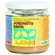Monki - Crema de Cacahuete | Nutrition & Santé | 330g | Cacahuete Tostado y Sal Marina | Conservas Vegetales