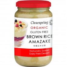 ClearSpring - Amasake de Arroz Integral | Nutrition & Santé | 380g | Arroz Integral y fermentado y Sal | Conservas Vegetales