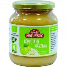 Natursoy - Compota de Manzana | Nutrition & Santé | 360g | Manzana | Conservas Vegetales