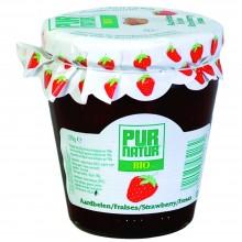 Pur Natur - Mermelada de Fresa | Nutrition & Santé | 370g | Fresa, Azucar, Gelatina | Mermeladas