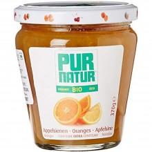 Pur Natur - Mermelada de Naranja | Nutrition & Santé | 370g | Naranja, Azucar, Gelatina | Mermeladas