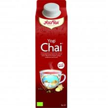 Bebida Yogi Chai| Nutrition & Santé | 1000ml | Canela, Cardamomo, Jengibre, Clavos, Pimienta, Azúcar | Bebidas