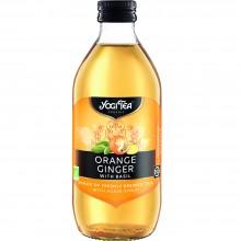 Yogi Tea - Infusión Naranja Jengibre | Nutrition & Santé | 330ml | Naranja,  Jengibre y espécias | Bebidas