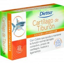 Dietisa - Cartílago de Tiburón | Nutrition & Santé | 48 compr. | Cartílago de tiburón, Vitaminas y Minerales | Sistema Locomotor