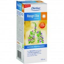 Dietisa - Resgri Día Jarabe | Nutrition & Santé | 150ml | Concentrado de manzana | Sistema Respiratorio