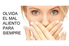 ELIMINA EL RECHAZO SOCIAL DEL MAL ALIENTO